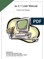 Pro Tax 21 User Manual
