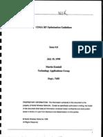 43592938 CDMA RF Optimization Guidelines