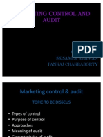 Marketing Control and Audit