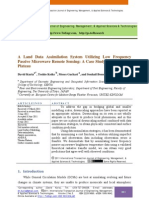 A Land Data Assimilation System Utilizing Low Frequency Passive Microwave Remote Sensing