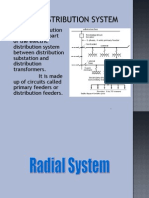 Radial, Loop Double and Grid Form Systems