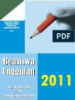 Panduan BU Diktendik 2011