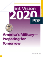 Us Joint Vision 2020