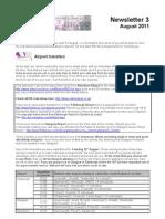 WSDC 2011 Newsletter 3
