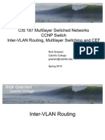 Cis187 Switch 4 Intervlanrouting Mls Cef