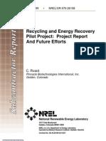 NREL Pilot Project
