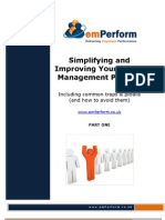 How to simplify and improve your talent management process - Part 1