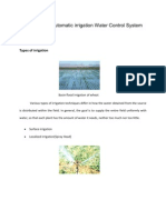 GSM Based Automatic Irrigation Water Control System