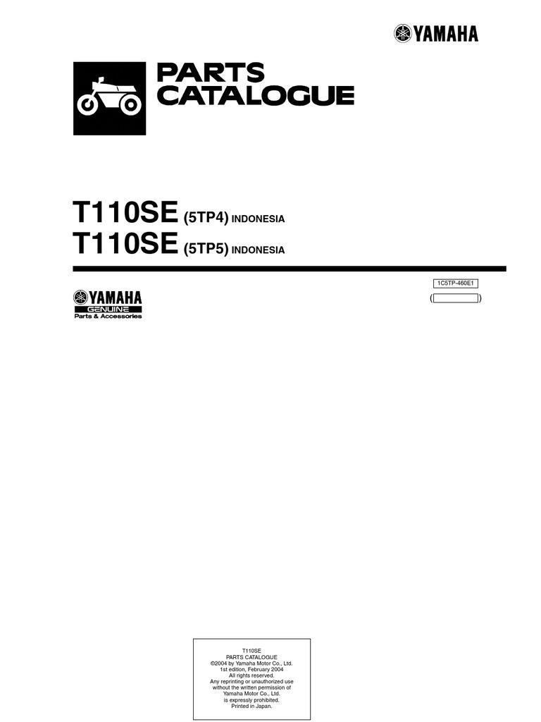 lagenda 110 jupiterz 2004 5tp4 5tp5 rh scribd com Yamaha Outboard Motor Wiring Diagram Yamaha XS1100 Wiring-Diagram