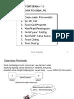 bab10-Teknik Pensinyalan