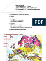 Geologia Romaniei - Prezentare 05 - Platforma Moesica