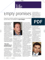 Empty Promises; Government plans to criminalise squatting | Big Issue in the North