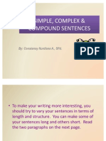 Simple, Complex & Compound