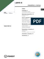 Manual Frigider Indesit TAA6FNF