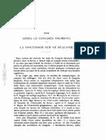 1925 Noel Apres Le Congres Thomiste Disc Realisme