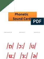 Phonetic Sound Flashcards