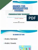 ILMI- Arabic for Communication 14062011