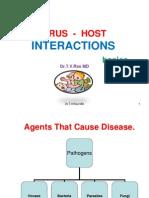Virus - Host interactions