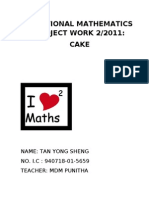 57182885 Question Answers for Additional Mathematics Project Work 2 2011