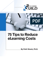 75 Tips to Reduse Elearning Cost