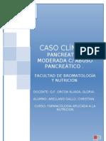 CASO CLÍNICO   -  farmacologia aplicada a la nutricion 2