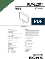 987824901 - KLV-L32M1 - Service Manual