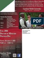 2011 DMin Preview Day