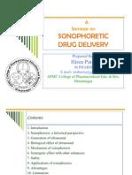 sonophoresis