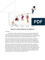 Physical Development of Toddler