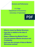 Market Structure and Performance by Dr.a.V