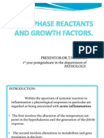 Acute Phase Reactants and Growth Factors