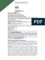 Apostila para Assistente de Administração da Prefeitura de Manaus 2011