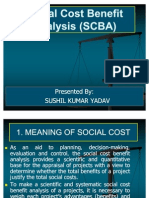 29896661 Social Cost Benefit Analysis