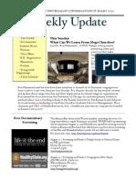 Weekly Update 2011.4.8