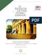Tercer Informe Presidencial 2010-2011 - Portal Guarani
