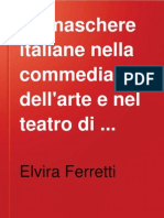 Le Maschere Italiane Nella Commedia Dell