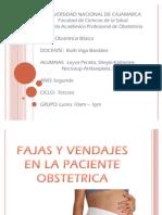 Fajas y Vendajes en La Paciente Obstetric A