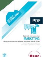 Tríptico Diplomado Internacional en Marketing
