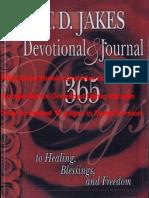 T.D. Jakes Devotional & Journal by T. D. Jakes