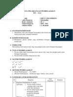 RPP 1.1 Kelas 9 Semester 2