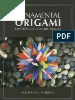 Ornamental Origami- Mukereji