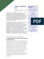 Objetivos generales y específicos de las materias doc
