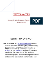 Swot Analysis by Fc