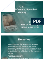 c 57 Cortical Centers, Speech & Memory