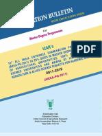 PG Bulletin 2011 12 s