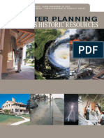 Disaster Planning of Historic Resources