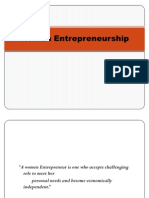 Women Entrepreneur Ppt