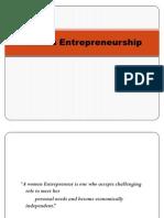 Women Entrepreneur Ppt