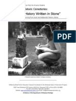 Historical Cemeteries Project Ideas