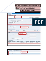 R12 - Oracle Customer Fields